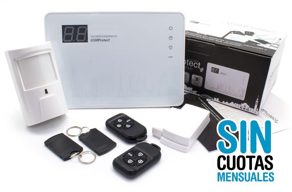 Kit Alarma GSM/SMS sin cuota mensual Salamanca